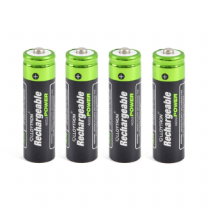 x4 AA Rechargeable Batteries (1300mAh)